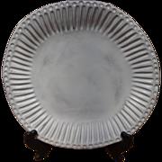 Vietri - Incanto - White Stripe - Dinner Plate - Italy