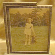 Art Deco Swinging Wood Picture Frame