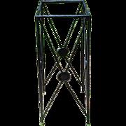 Vintage Iron Plant Stand - Pedestal - Art Stand