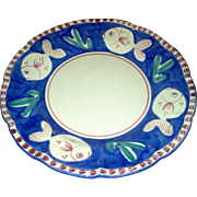 "Vietri - Pesce - Blue and White - 11 1/2"" Dinner Plates"