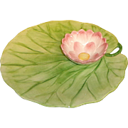 Chelsea House - Water Lily - Snack Plate - Vietri Water Garden Style