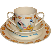 Goebel - Disney - 3 Piece - Childs China Set