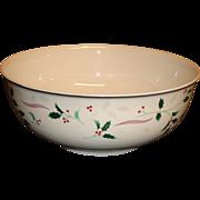 """Christopher Stuart - Holiday Splendor - 8"""" Vegetable Bowl"""