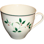 Christopher Stuart - Holiday Splendor - Cup & Saucer