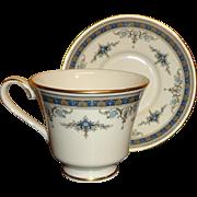 Minton - Grasmere - Fine Bone China - Cup & Saucer - Blue