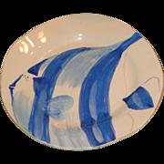 Vietri - Adriatic Pattern Fish Plates - Rare