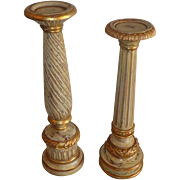 Fine Art Lamps - Accessories - Gold Leaf Candle Holder