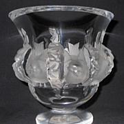 "Lalique "" Dampierre "" Vase"