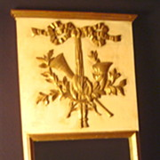 Italian Gold Gilt Mirror - Vintage