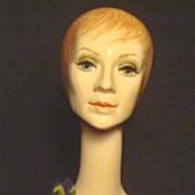 Vintage 1940's Lady Mannequin Bust
