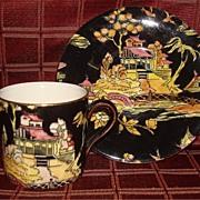 "Royal Winton "" Pekin ""  Chintz Cup & Saucer"