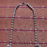 """1950's Vintage Rhinestone Necklace """" By Gale """""""
