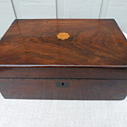 REDUCED Victorian mahogany box
