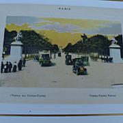 REDUCED Paris Souvenir print