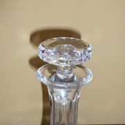 REDUCED Crystal decanter marked ATLANTIS