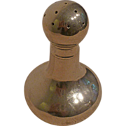 REDUCED French silver-plate salt shaker