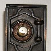Cast Iron and Tin Safe Bank