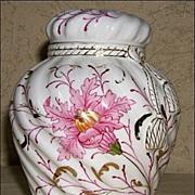 SALE R.S. Prussia Rose or Potpourri Jar - German