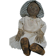 SOLD Artist Made Primitive Cloth Doll