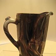 Pressed Glass Milk Jug - Victorian