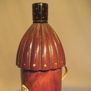 Figural Etui; Miniature Lantern in Mahogany - Georgian/Regency