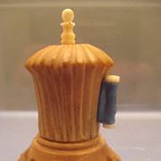 SALE PENDING Tape Measure in Vegetable Ivory - Victorian