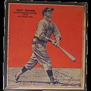 1936 Arky Vaughn Wheaties Baseball Panel Card, Pittsburgh Pirates
