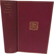 1924 Narrative of the Texan Santa Fe Expedition by George Wilkins Kendall, The Lakeside ...
