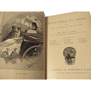 1886 From Gold to Grey,Being Poems and Pictures of Life and Nature by Mary ...