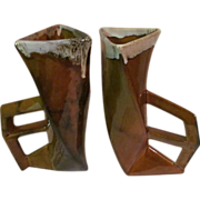 Van Briggle Pottery Mid Century, Modern Large Vases