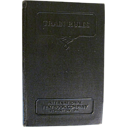 1936 Train Rules by C E Collingwood, New York Central Railroad Company, Publ International ...
