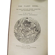 Fairy Book, Mrs Mulock's Works, Dinah Mulock Craik, Fairy Tales, Publ Harper & Brothers