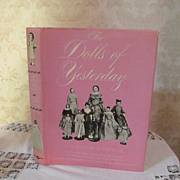 1948 The Dolls of Yesterday with Dust Jacket by Eleanor St George, Publ Bonanza Book