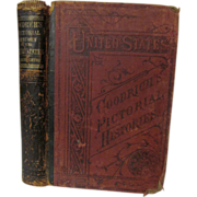 1879 A Pictorial History of the United States by S G Goodrich, Illustrated Publ J ...