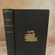 1886 Poems by Shandy Maguire, Dedicated to the Brotherhood of Railroad Engineers