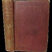 1853 Life of Napoleon Bonaparte, Emperor of France by J G Lockhart, Publ Derby & Miller