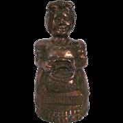 Black Americana Louisiana Mammy Metal Bank