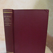 1924 Railroads, Rates, Service, Management by Homer Bews Vanderblue & Kenneth Farwell Burgess,