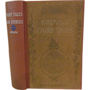 SOLD 1800's Grimm's Fairy Tales by Brothers Grimm, Publ George Routledge and Sons Limited