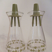 Corelle Crazy Daisy, Spring Blossom Salt Pepper Shakers