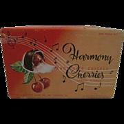 Harmony Chocolate Covered Cherries Candy Box