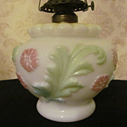 Consolidated Glass Oil Lamp