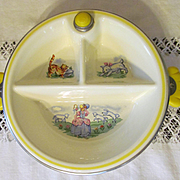 Childs, Baby Nursery Rhyme Feeding Dish
