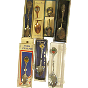 Seven Souvenir Spoons, States, World's Fair:National Park
