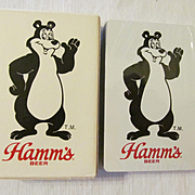SOLD Hamm's Beer Unopened Playing Cards