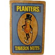 Planters Peanuts Tavern Nuts Unopened Playing Cards