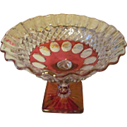 Westmoreland Wakefield Waterford Footed Compote Candy Dish