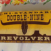 SOLD Hi Standard Double Nine Revolver Gun Box Only