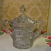 Imperial Forks Pattern #410 Large Cracker Jar