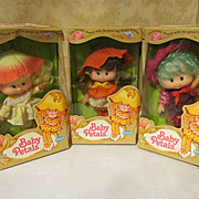 3 Baby Petals Dolls in Boxes by Fun World